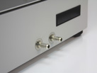 Close up view of Ratek OM25 Cooling Orbital Mixer/Incubator inlet/outlet cooling ports