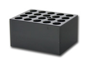 Block with 20x14mm holes