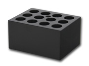 Block with 12x16mm holes