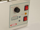Close up Ratek SWB10D240 control panel