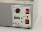 Close up of Ratek SWB20D Digital Shaking Waterbath control panel