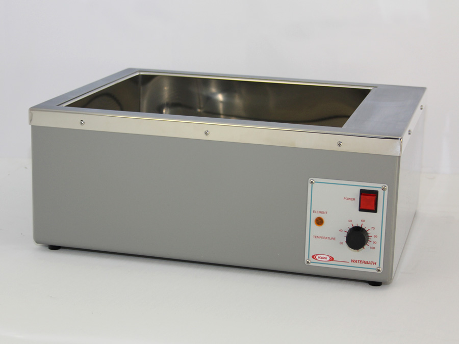 20L Analogue Waterbath - Ratek Laboratory Equipment : WB20